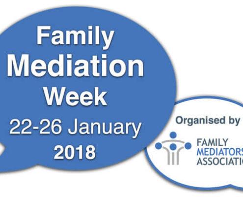 Family Mediation Week logo